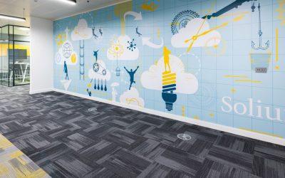 Solium - Frequency carpet tiles